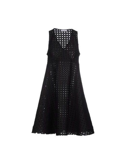 Stefano Mortari | Женское Черный Платье До Колена