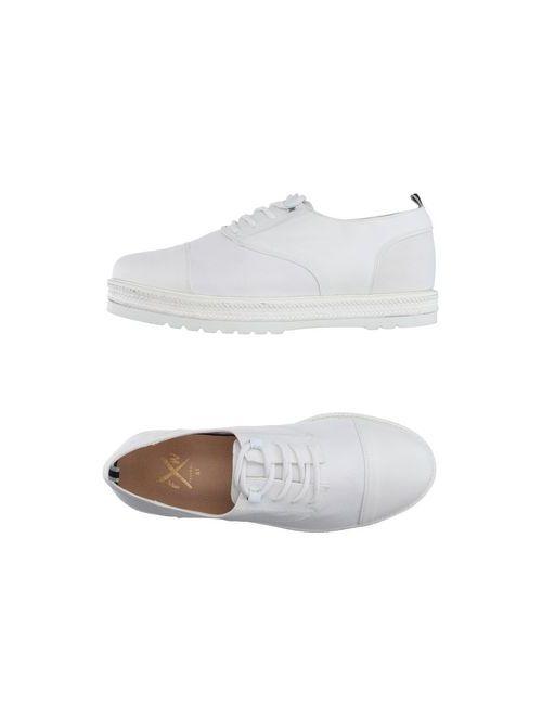 FAREWELL  FOOTWEAR | Мужская Белая Обувь На Шнурках