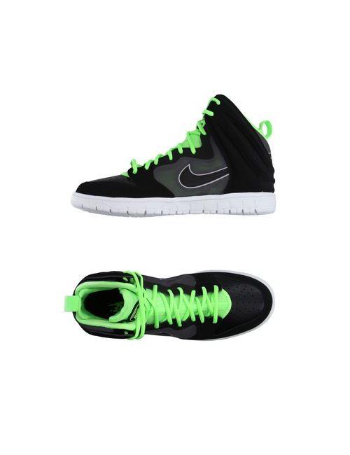 Nike   Женские Чёрные Высокие Кеды И Кроссовки