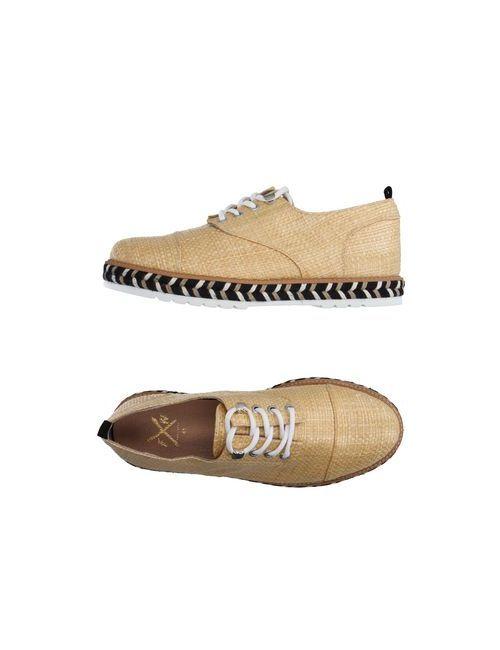 FAREWELL  FOOTWEAR   Мужская Песочная Обувь На Шнурках