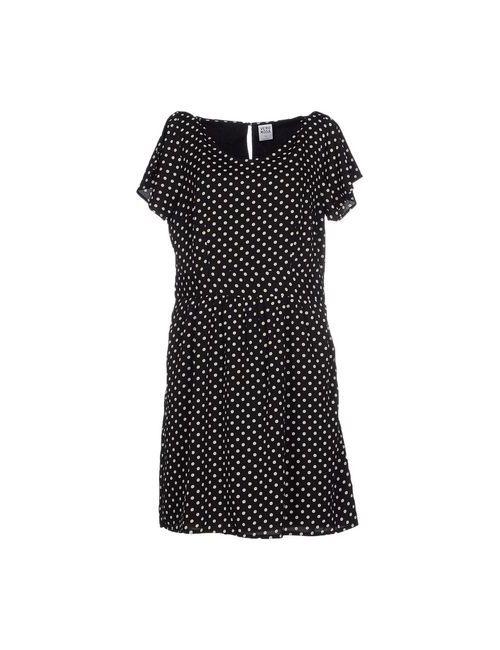 Vero Moda | Женское Чёрное Короткое Платье