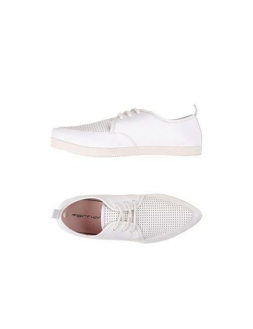Fornarina | Мужская Белая Обувь На Шнурках