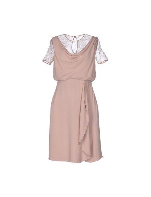 Valentino | Женское Телесное Короткое Платье