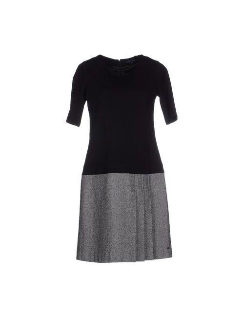 Tommy Hilfiger | Женское Чёрное Короткое Платье