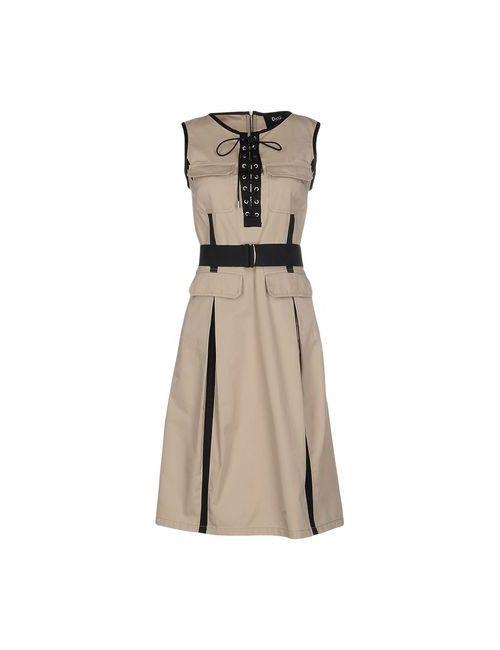Dolce & Gabbana | Женское Песочное Короткое Платье