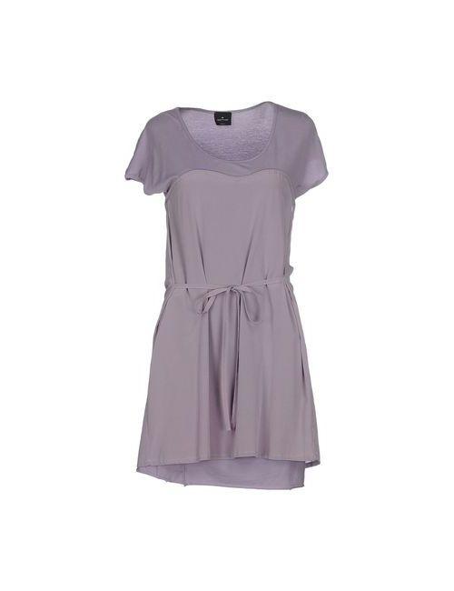 Gotha | Женское Фиолетовое Короткое Платье