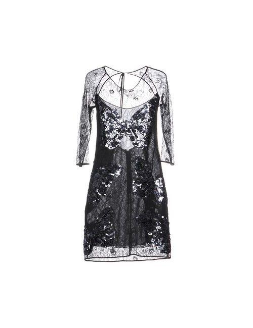 Vdp Collection | Женское Чёрное Короткое Платье