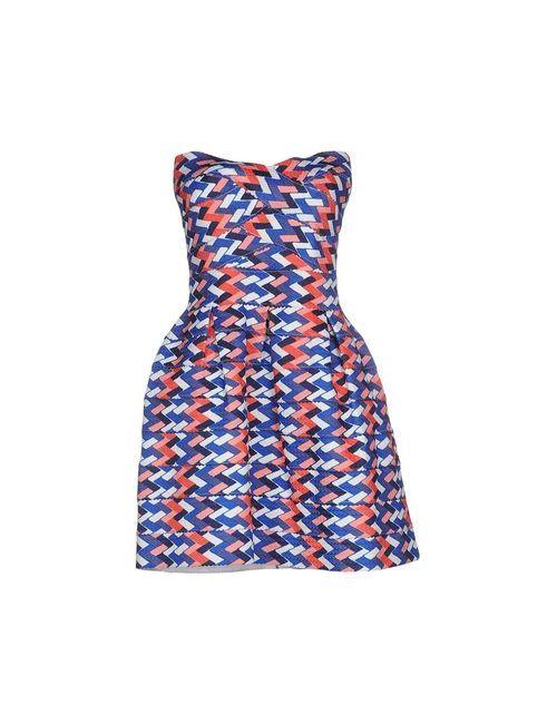 Lm Lulu | Женское Синее Короткое Платье