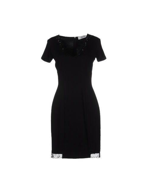 Blugirl Blumarine | Женское Чёрное Короткое Платье