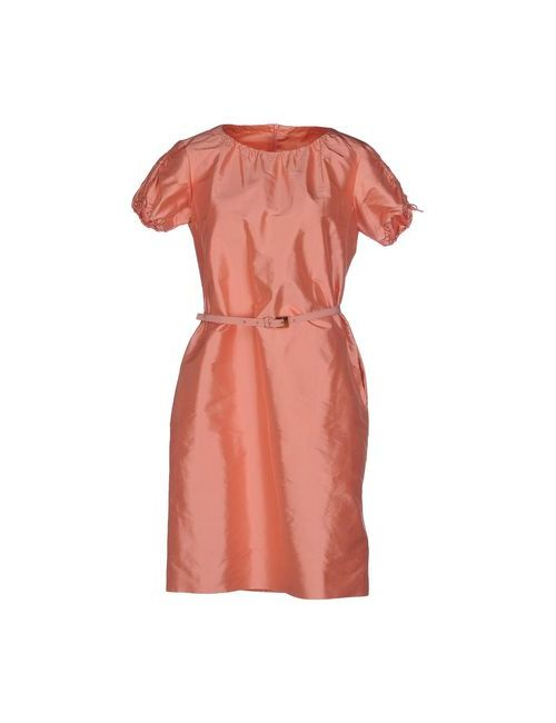 Fabrizio Lenzi | Женское Розовое Короткое Платье