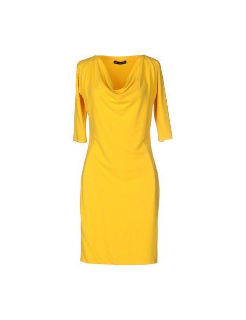 Dsquared2 | Женское Жёлтое Короткое Платье