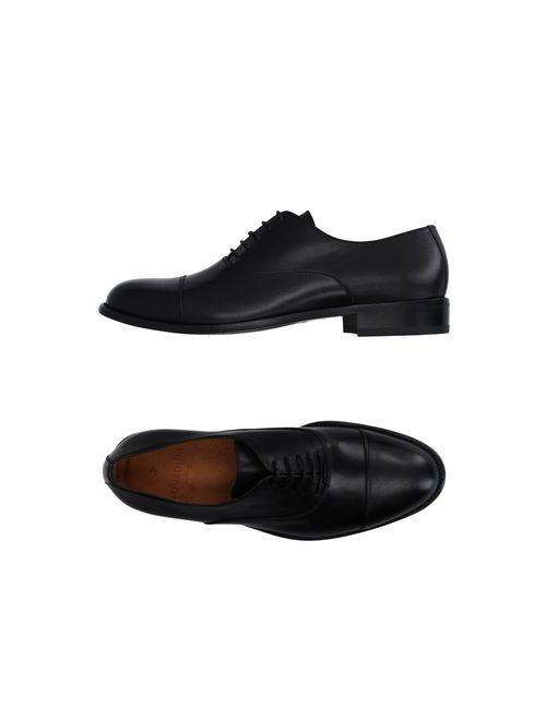 Tombolini | Мужская Чёрная Обувь На Шнурках