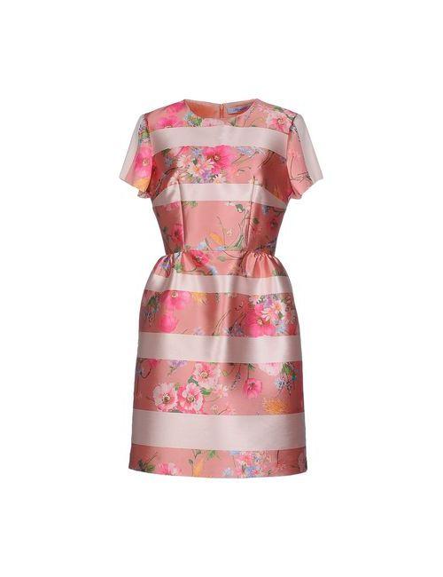 Blumarine | Женское Розовое Короткое Платье