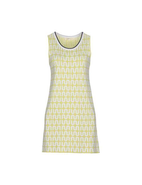 Suoli | Женское Зелёное Короткое Платье