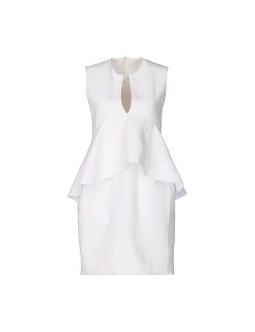 Céline | Женское Белое Короткое Платье