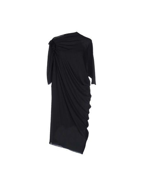 Lanvin | Женское Синее Платье До Колена