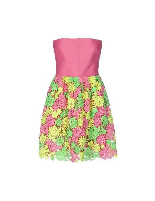 Valentino | Женское Фиолетовое Короткое Платье