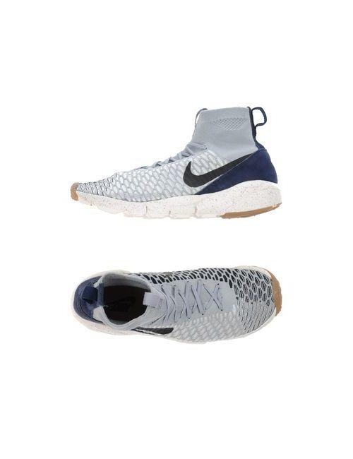 Nike | Женские Серые Высокие Кеды И Кроссовки