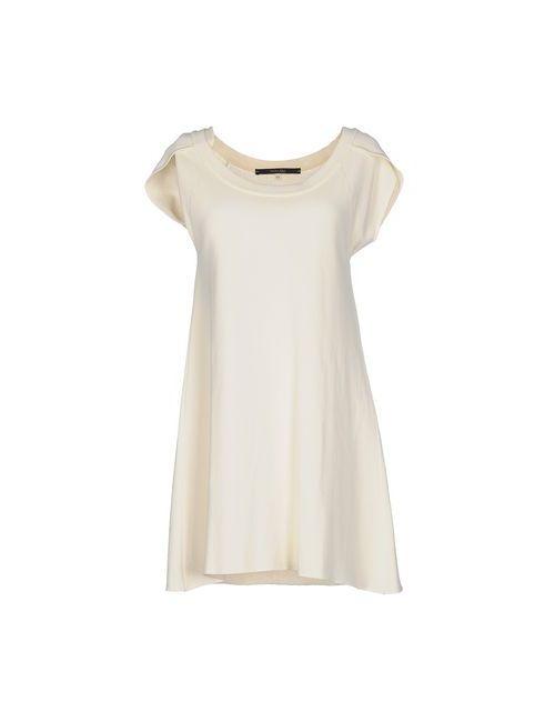 Terre Alte | Женское Слоновая Костящее Короткое Платье