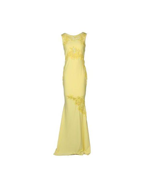Ermanno Scervino | Женское Жёлтое Длинное Платье