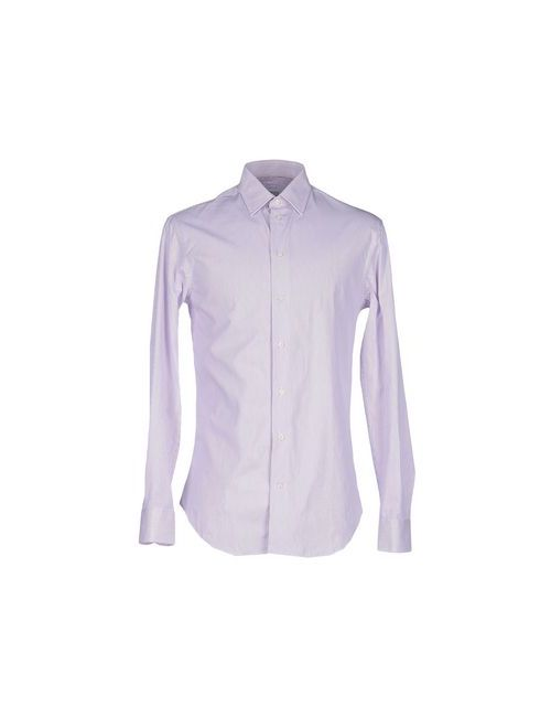 Armani Collezioni | Мужская Фиолетовая Pубашка