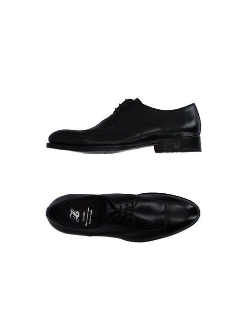 ZENOBI   Мужская Черный Обувь На Шнурках