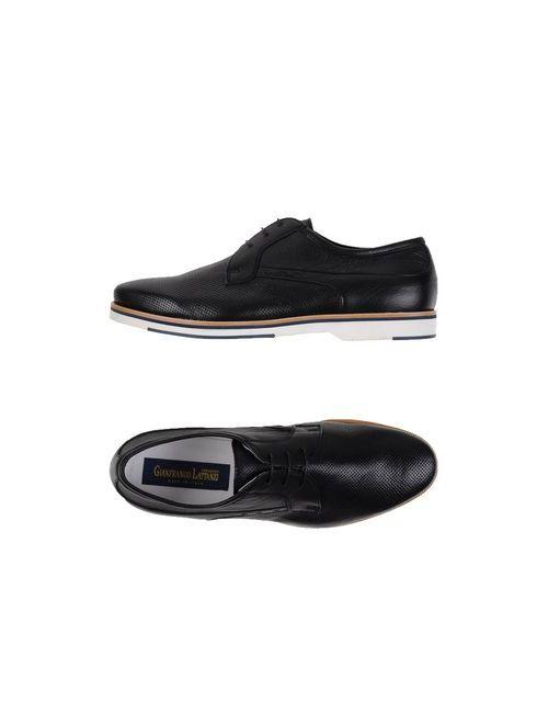 Gianfranco Lattanzi | Мужская Чёрный Обувь На Шнурках