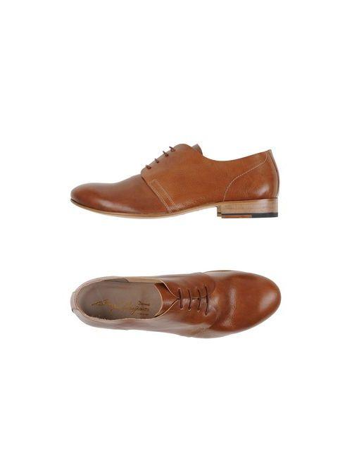 Gianfranco Lattanzi | Мужская Коричневая Обувь На Шнурках