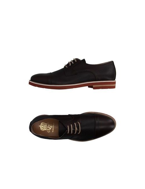 Via Dei Calzaiuoli | Мужская Коричневая Обувь На Шнурках