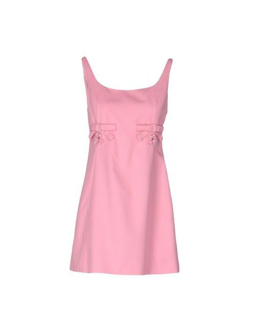 Moschino Cheap and Chic | Женское Розовое Короткое Платье