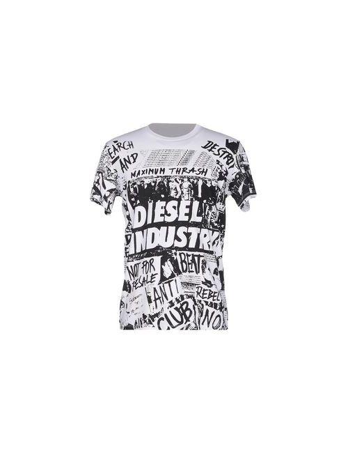 Diesel | Женская Белая Футболка