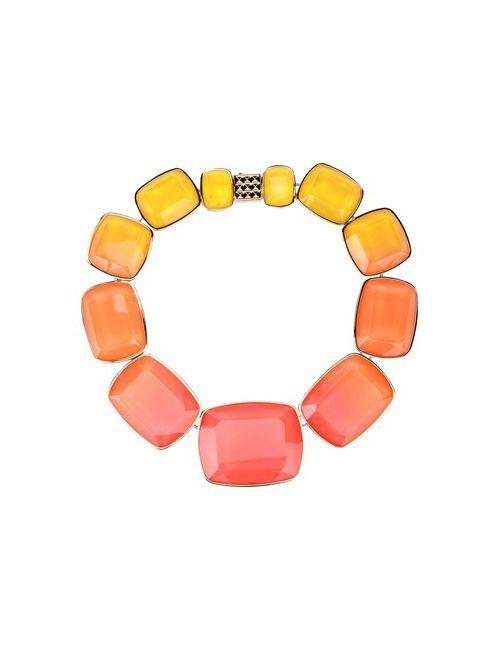 Elie Saab | Женское Оранжевое Ожерелье