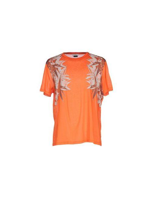 Versace Collection | Женская Оранжевая Футболка
