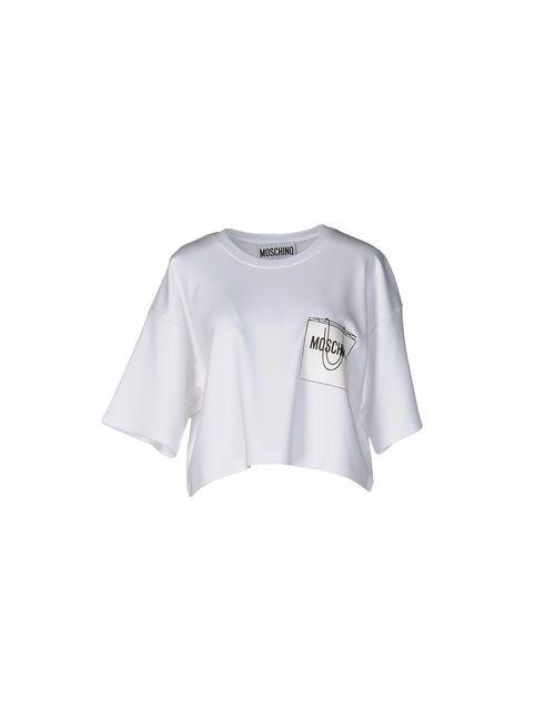 Moschino Couture | Женская Белая Футболка
