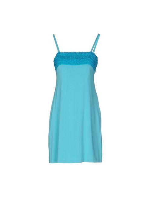 Scervino Street | Женское Бирюзовое Короткое Платье