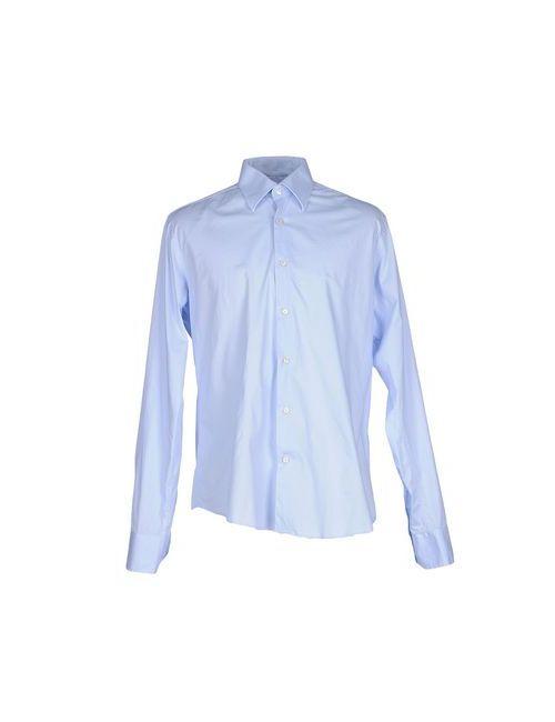 Valentino | Мужская Голуба Pубашка