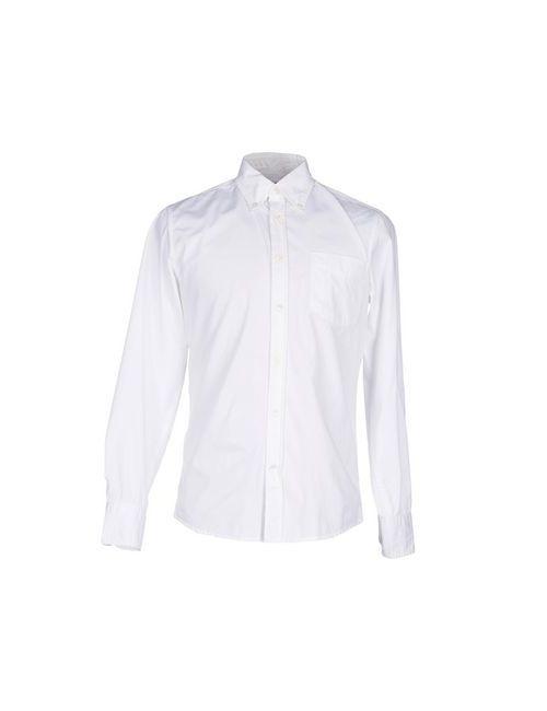Deperlu | Мужская Белая Pубашка