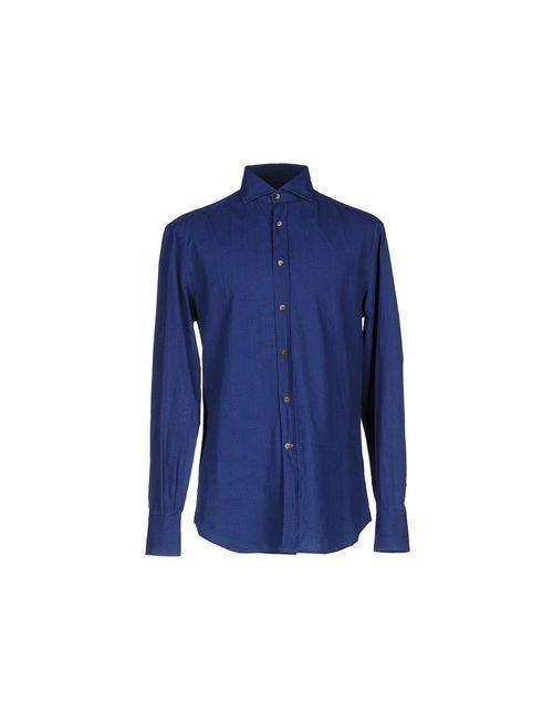 Brunello Cucinelli | Мужская Синяя Pубашка