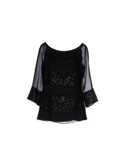 Liu •Jo   Женская Чёрная Блузка