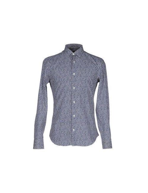 Trend Corneliani   Мужская Синяя Pубашка