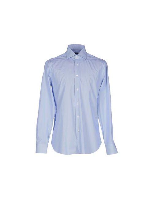 BARBA NAPOLI | Мужская Синяя Pубашка