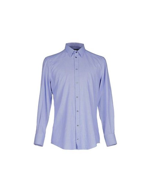 Dolce & Gabbana | Мужская Синяя Pубашка