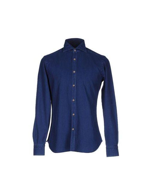 DANDYLIFE BY BARBA | Мужская Синяя Pубашка
