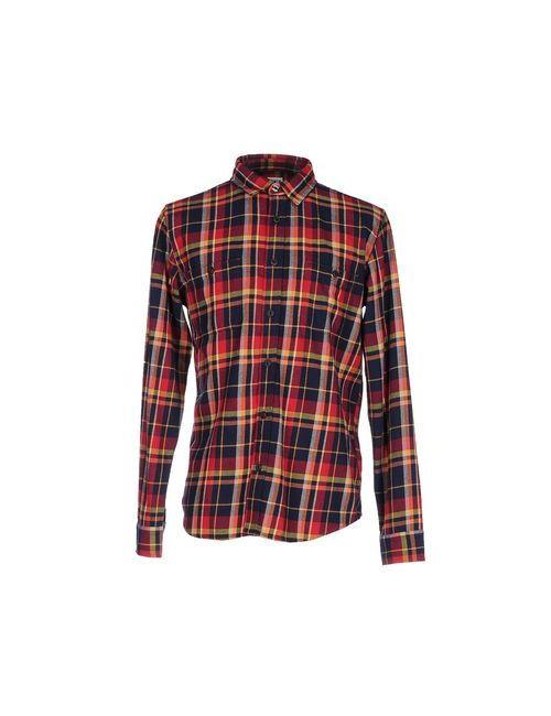 Edwin | Мужская Красная Pубашка