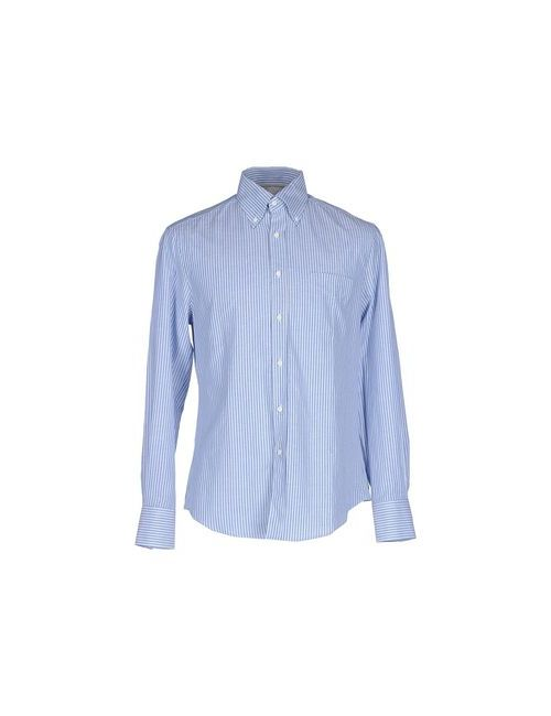 Brunello Cucinelli | Мужская Голуба Pубашка