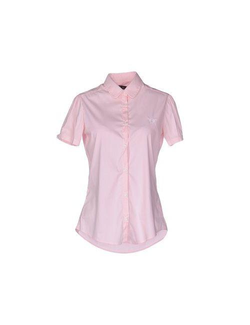 Fred Perry | Мужская Розовая Pубашка
