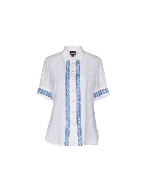 Just Cavalli | Мужская Белая Pубашка