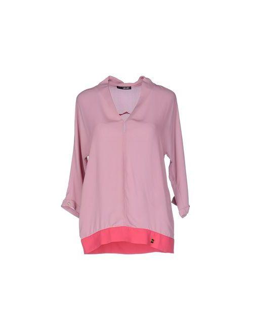 Liu •Jo | Женская Розовая Блузка