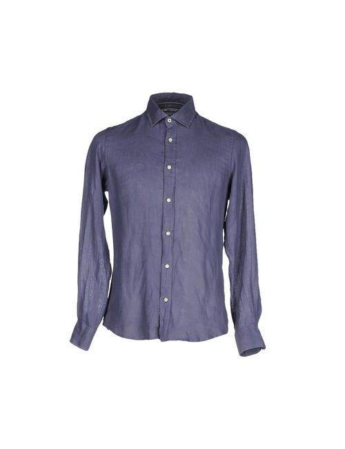 At.P.Co | Мужская Синяя Pубашка