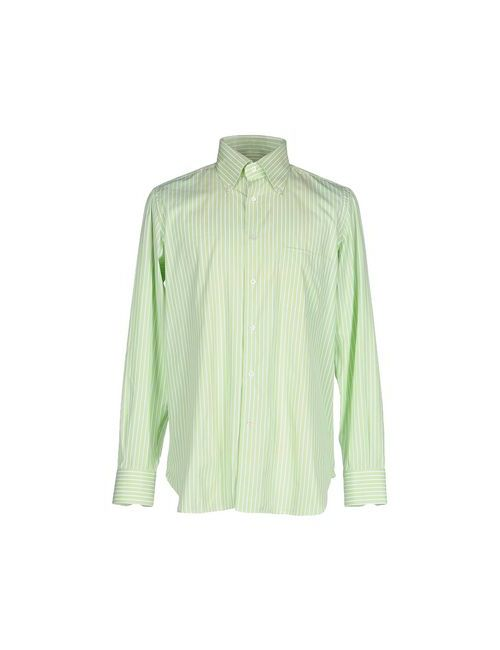Giampaolo   Мужская Зелёная Pубашка